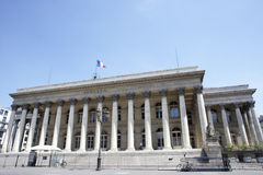 La Bourse,Paris Stock Exchange Stock Images