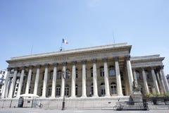 La Bourse,Paris Stock Exchange stock images