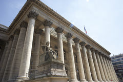 La Bourse, Paris Stock Exchange. In France stock photography