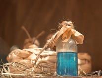 La bouteille de breuvage magique Photos libres de droits