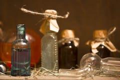 La bouteille de breuvage magique Images stock