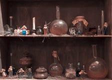 La bouteille de breuvage magique Photographie stock