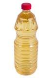 La bouteille de pétrole isolaten sur le fond blanc Photographie stock
