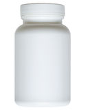La bouteille ordinaire clippathed Images stock