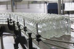 La bouteille a rempli avec de l'eau Photographie stock libre de droits