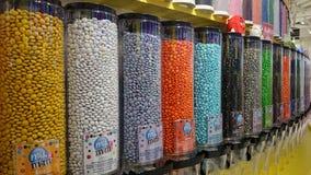 La boutique de Candelicious décorent des sucreries Image libre de droits