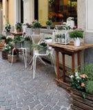 La boutique de fleuriste Photographie stock libre de droits