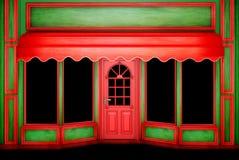 La boutique de Noël Images libres de droits