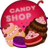 La boutique de sucrerie Photo libre de droits
