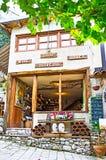 La boutique de vin Photo stock