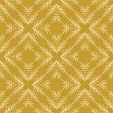 La branche rustique Linocut de sapin d'hiver donnent au modèle une consistance rugueuse sans couture de vecteur, édredon peu préc illustration libre de droits