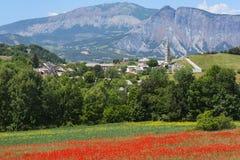 La Breole (Haute Provence) Arkivfoto