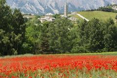 La Breole (Haute Provence) Stock Afbeelding