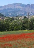 La Breole (Haute Provence) Arkivbilder