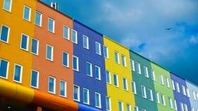 Bâtiments d'Amsterdam Photo libre de droits