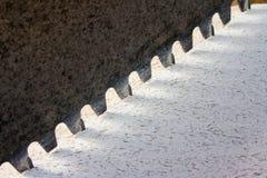La brique a vu Photo stock