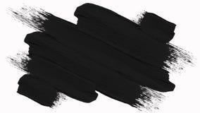 La brocha abstracta cambiante rápida enmarca el paquete con el canal alfa - transparencia ilustración del vector