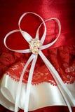 La broche sur sa robe photographie stock