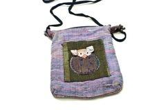 La broderie de sac de tissu est des rats Photographie stock