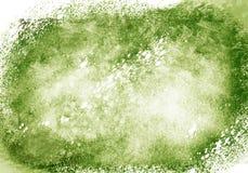 La brosse de couleur de graphique couleur de l'eau de corrections frotte des corrections Images stock