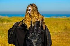 La bruja en el mar fotografía de archivo libre de regalías