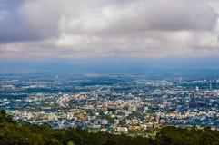 La brume en montagne sur Chiang Mai Photos stock