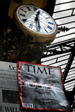 La búsqueda por el tiempo Foto de archivo libre de regalías