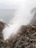 La Bufadora-Luftloch in Ensenada, Baja, Kalifornien, Mexiko Lizenzfreie Stockfotos