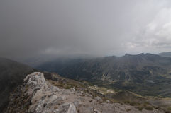 La Bulgaria, montagne di Rila Fotografia Stock Libera da Diritti