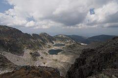 La Bulgaria, montagne di Rila Immagini Stock Libere da Diritti