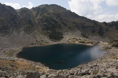 La Bulgaria, montagne di Rila Fotografie Stock