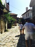 La Bulgaria Nessebar immagini stock