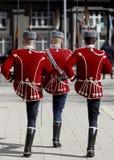 La Bulgaria Sofia Guards di onore Immagini Stock Libere da Diritti