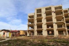 La Bulgarie, Byala, décembre 2017 - construction de nouveaux appartements à vendre Photographie stock libre de droits