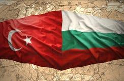 La Bulgarie et la Turquie Photos stock