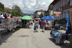 La Bulgarie, marché en plein air Image libre de droits