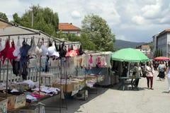 La Bulgarie, marché en plein air Photo libre de droits