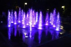 La Bulgarie, Plovdiv, fontaines de chant image stock