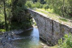 La Bulgarie, pont en pierre Images libres de droits
