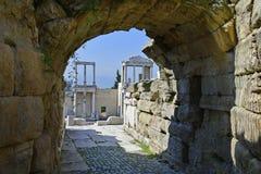 La Bulgarie, vieille ville Plovdiv Image libre de droits