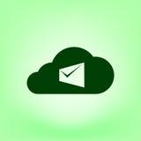 La busta del computer portatile del email di vendita di Digital invia la posta di affari Fotografia Stock