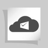 La busta del computer portatile del email di vendita di Digital invia la posta di affari Fotografie Stock