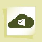 La busta del computer portatile del email di vendita di Digital invia la posta di affari Fotografia Stock Libera da Diritti