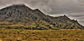 La butte d'ours est un parc d'état dans le Dakota du Sud occidental rural images libres de droits