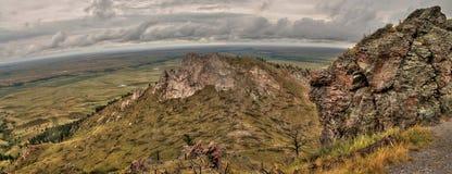 La butte d'ours est un parc d'état dans le Dakota du Sud occidental rural photographie stock libre de droits