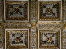 La cámara acorazada principal de los di Santa Maria Maggiore de la basílica en Roma, Italia imagenes de archivo