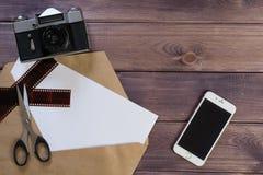 La cámara antigua foto de archivo