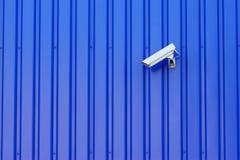 La cámara de vigilancia Foto de archivo libre de regalías