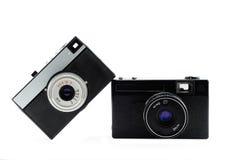 La cámara vieja de la película Foto de archivo