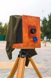 La cámara vieja en la calle Imagen de archivo
